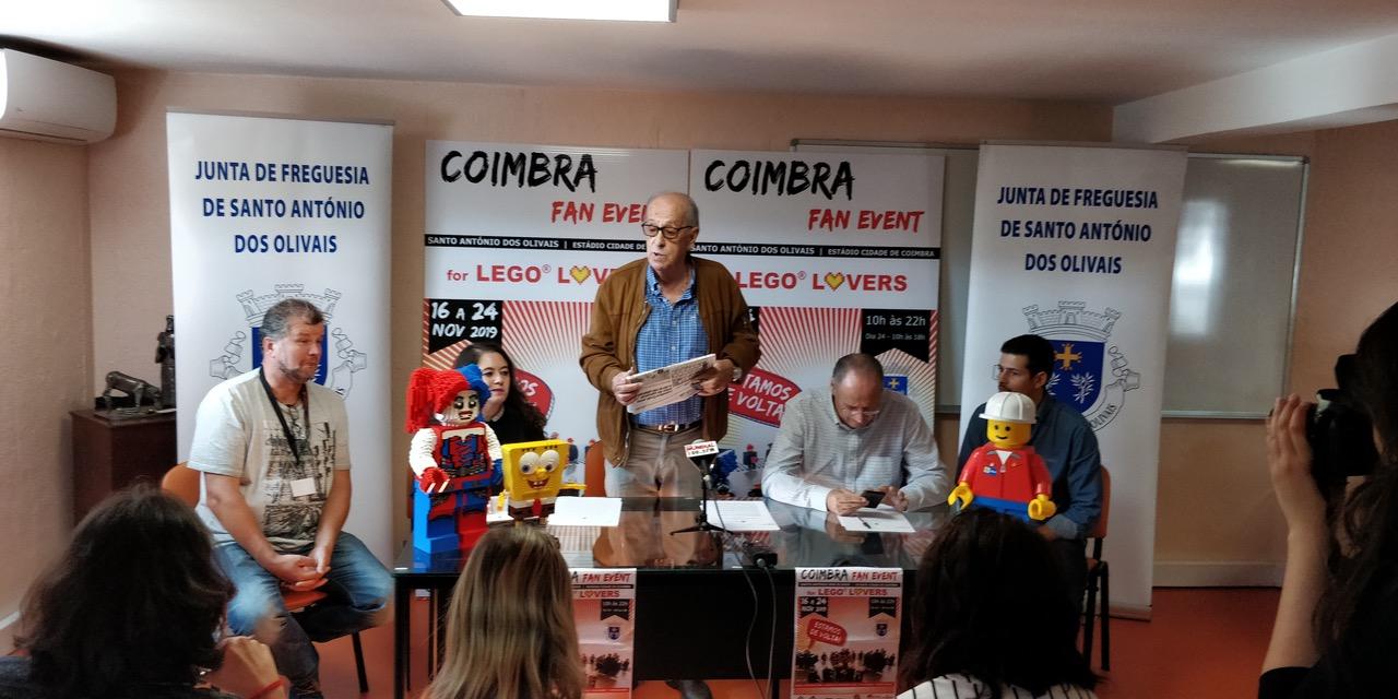 Mundo do Lego regressa ao Estádio Cidade de Coimbra em Novembro