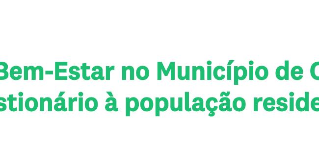 Cientistas da UC avaliam saúde e bem-estar no município de Coimbra